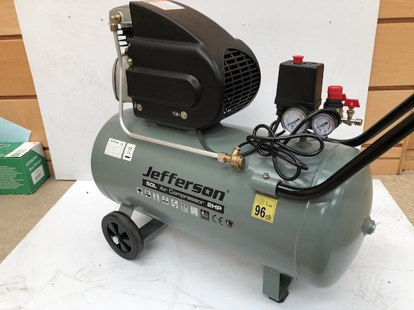 2HP Jefferson 50L Compressor