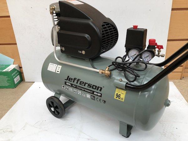 2HP Jefferson 50L Compressor