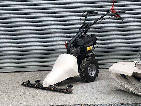 Eurosystems Self Propelled Fingerbar Mower