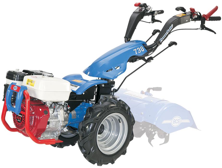 Bcs Garden Tractors : Two wheel tractor